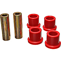 Steering Rack Bushing - Red, Direct Fit