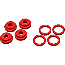 5.1102R Shifter Bushing - Red, Direct Fit, Set