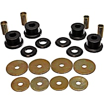 Energy Suspension 5.4105G Subframe Bushing - Black, Polyurethane, Direct Fit, Kit
