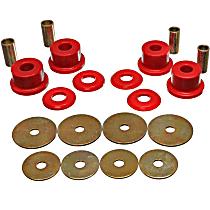 5.4105R Subframe Bushing - Red, Polyurethane, Direct Fit, Kit