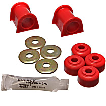 Energy Susp 5.5106R Sway Bar Bushing - Red, Polyurethane, Direct Fit, Set of 2