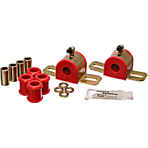 Energy Susp 5.5173R Sway Bar Bushing - Red, Direct Fit, Set of 2