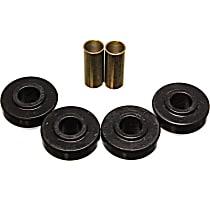 5.7109G Strut Rod Bushing - Black, Polyurethane, Direct Fit, 2-arm set