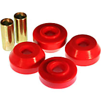 Energy Susp 5.7109R Strut Rod Bushing - Red, Polyurethane, Direct Fit, 2-arm set