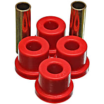 7.1101R Cross Member Bushing - Red, Polyurethane