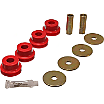 7.1102R Differential Mount Bushing - Red, Polyurethane, Direct Fit, Kit