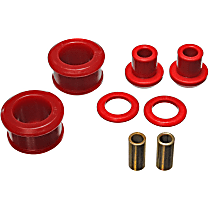 Energy Suspension 7.1108R Differential Mount Bushing - Red, Polyurethane, Direct Fit, Kit