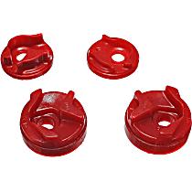 7.1112R Motor and Transmission Mount Bushing - Red, Polyurethane, Motor Mount, Direct Fit