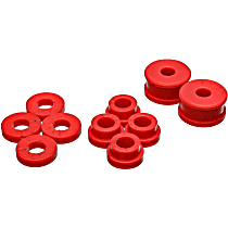 Energy Susp 7.1115R Shifter Bushing - Red, Polyurethane, Direct Fit, Set