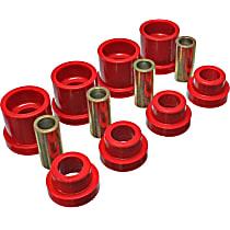 7.1117R Subframe Bushing - Red, Polyurethane, Direct Fit, Kit