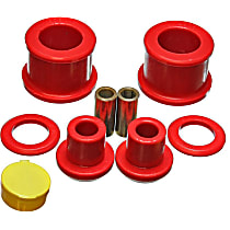 7.1118R Differential Mount Bushing - Red, Polyurethane, Direct Fit, Kit