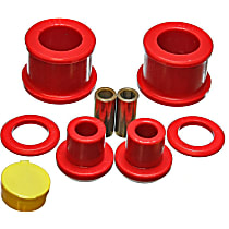 Energy Suspension 7.1118R Differential Mount Bushing - Red, Polyurethane, Direct Fit, Kit