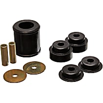 7.1119G Differential Carrier Bushing - Black, Polyurethane, Direct Fit