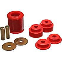 7.1119R Differential Carrier Bushing - Red, Polyurethane, Direct Fit