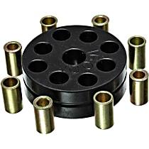 Steering Coupling - Black, Polyurethane, Direct Fit