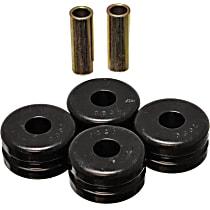 7.7102G Strut Rod Bushing - Black, Polyurethane, Direct Fit, 2-arm set