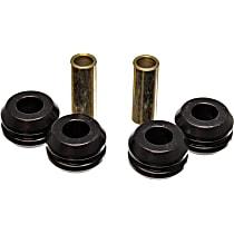 7.7106G Strut Rod Bushing - Black, Polyurethane, Direct Fit, 2-arm set