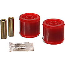 7.7108R Trailing Arm Bushing - Red, Polyurethane, Direct Fit, Set of 2
