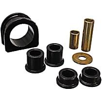 Energy Suspension 8.10104G Steering Rack Bushing - Black, Direct Fit, Kit