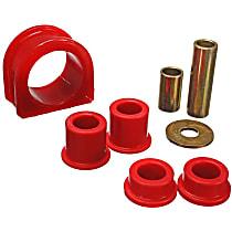 Energy Suspension 8.10104R Steering Rack Bushing - Red, Direct Fit, Kit
