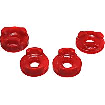 8.1101R Motor and Transmission Mount Bushing - Red, Polyurethane, Motor Mount, Direct Fit