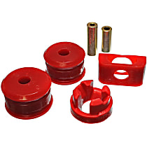 8.1103R Motor and Transmission Mount Bushing - Red, Polyurethane, Direct Fit