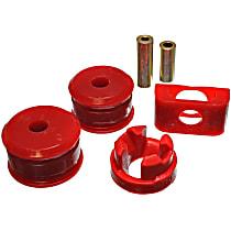 Motor and Transmission Mount Bushing - Red, Polyurethane, Direct Fit