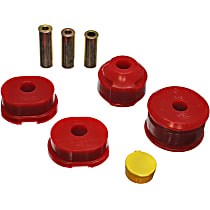 8.1104R Motor and Transmission Mount Bushing - Red, Polyurethane, Direct Fit