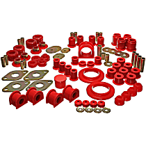 8.18104R Master Bushing Kit - Red, Polyurethane, Direct Fit, Kit