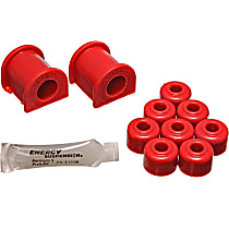 Energy Susp 8.5102R Sway Bar Bushing - Red, Polyurethane, Direct Fit, Set of 2