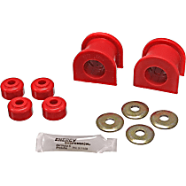 Energy Suspension 8.5118R Sway Bar Bushing - Red, Polyurethane, Direct Fit, Set of 2