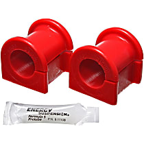 Energy Susp 8.5135R Sway Bar Bushing - Red, Polyurethane, Greasable, Direct Fit, Set of 2