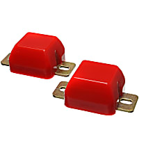 Energy Susp 8.9102R Rear Bump Stop - Red, Polyurethane, Direct Fit, Set of 2