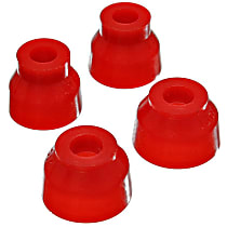 9.13127R Ball Joint Boot - Red, Polyurethane, Direct Fit