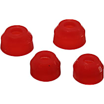 9.13128R Ball Joint Boot - Red, Polyurethane, Direct Fit
