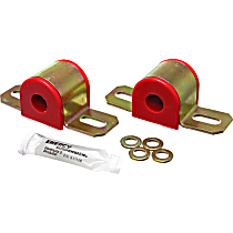 9.5101R Sway Bar Bushing - Red, Polyurethane, Universal, Set of 2