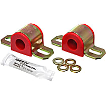 9.5120R Sway Bar Bushing - Red, Polyurethane, Universal, Set of 2