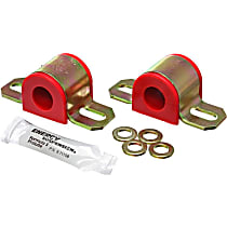 Sway Bar Bushing - Red, Polyurethane, Universal, Set of 2