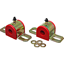 Energy Susp 9.5156R Sway Bar Bushing - Red, Polyurethane, Universal, Set of 2