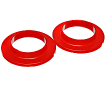 9.6103R Coil Spring Insulator - Red, Polyurethane, Universal, Sold individually