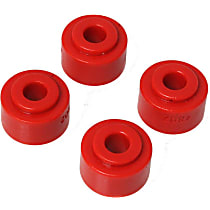 Sway Bar Link Bushing - Red, Polyurethane, Direct Fit, 1-end-link set