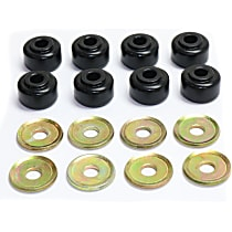 Energy Suspension 9.8105G Sway Bar Link Bushing - Black, Polyurethane, Universal, 2-end-link set