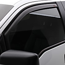 561575 Matte Black Window Visor, Front, Driver and Passenger Side - Set of 2