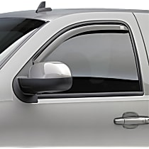 572651 Smoke Window Visor, Front and Rear, Driver and Passenger Side - Set of 4