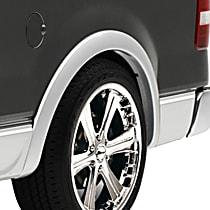 Rear, Driver and Passenger Side EGR OEM Style Fender Flares, Lightly Textured Black