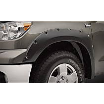 Front and Rear, Driver and Passenger Side Bolt-on Look Series Fender Flares, Lightly Textured Black