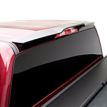 983379 Cab Spoiler - Matte Black, Polyurethane, Direct Fit, Sold individually