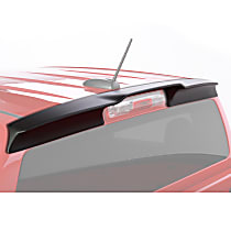 Cab Spoiler - Matte Black, Polyethylene, Direct Fit, Sold individually