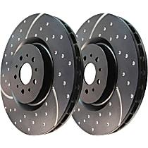 Rear Driver And Passenger Side Brake Disc