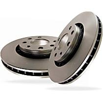 EBC Premium Brake Rotors Rear Driver And Passenger Side Brake Disc
